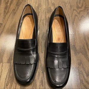 Murtosa | Italian Leather Loafers in Black